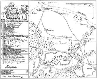 Battle of Maciejowice - Image: POL Maciejowice battle