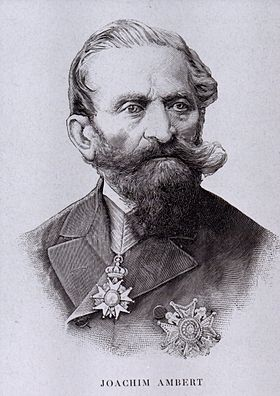 Portrait du général Joachim Ambert (vers 1880).