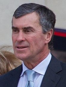 Jérôme Cahuzac le 15 mai 2012, lors de l'investiture de François Hollande à la présidence de la République.