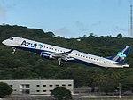 PR-AUE AZUL Linhas Aéreas Brasileiras Embraer ERJ-195 - cn 677 (17474079561).jpg