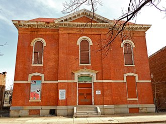 Thurgood Marshall - Henry Highland Garnet School (P.S. 103), where Marshall attended elementary school