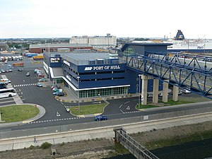 Port of Hull - The P&O Ferries terminal at the Port of Hull