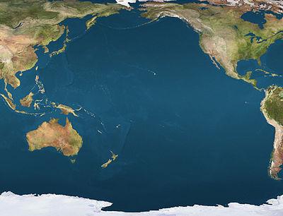 pacific ocean on map  Skabelon:Kortpositioner Stillehavet