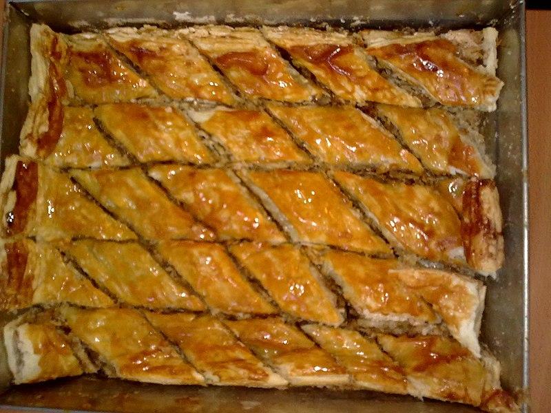 Pakhlava Cake