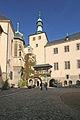Palác Vlašský dvůr (Kutná Hora) nádvoří2.JPG