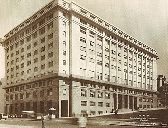 Ministry of the Treasury (Argentina) - The Economy Ministry in 1940