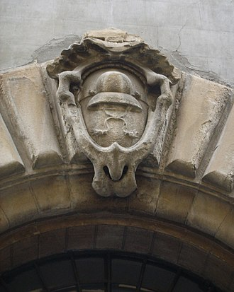 Palazzo di Bianca Cappello - Image: Palazzo di bianca cappello, stemma cappello