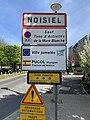 Panneau Entrée Noisiel Cours Château - Noisiel (FR77) - 2021-04-24 - 1.jpg