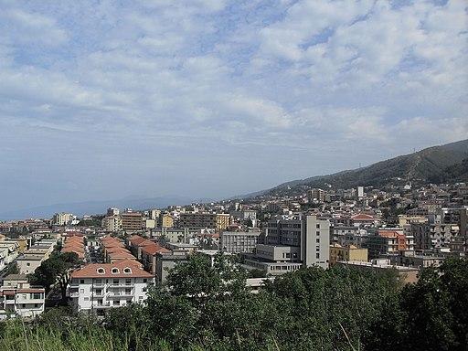 Panorama di Paola, Calabria (Italia)2