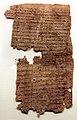 Papiro con contratto di vendita di un terreno, III secolo dc. (PSI 2444).jpg