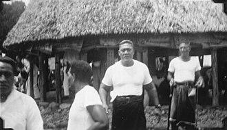Mata'afa Faumuina Fiame Mulinu'u I - Mata'afa Faumuina Fiame Mulinu'u I (centre, facing camera), 1930
