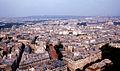 Paris - East from Eiffel Tower 1968.jpg