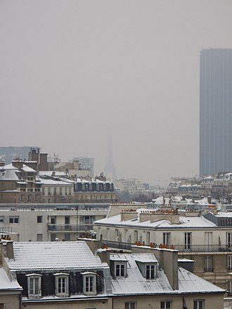 Winter of 2009–10 in Europe - Image: Paris France December 17