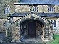 Parish Church of St James, Altham, Porch - geograph.org.uk - 660506.jpg