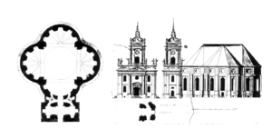 Martin Grünberg - Plan of the Parochialkirche in Berlin