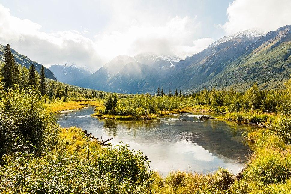 Parque Eagle River, Anchorage, Alaska, Estados Unidos, 2017-09-01, DD 33