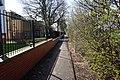 Path alongside Pinderfields Hospital, Wakefield (geograph 5746722).jpg