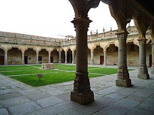 Enrique Gil Robles - Escuelas Menores patio, Salamanca
