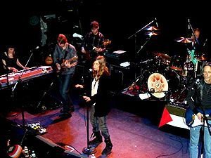 Patti Smith and Her Band performing at Bowery ...