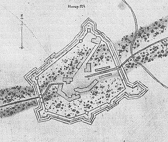 Battle of Petschora - Petschora in 1701