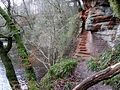 Peden's Pulpit, Coilsholm Wood, River Ayr, Failford, Ayrshire.jpg