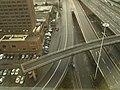 Pedestrian Bridge to Nowhere, M8, Glasgow. - panoramio.jpg