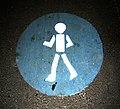 Pedestrian sign night fluorescent.jpg
