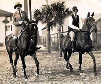Pelegrina Pastorino - Pelegrina Pastorino and Maria Rosa Oliver, at Hurlingham Club (Argentina), picture taken in 1938 by photographer Shesha Pereyra-Iraola.