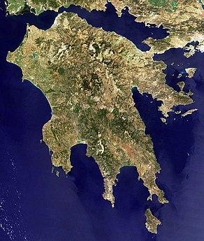 Peloponnes Karte Regionen.Peloponnes Reiseführer Auf Wikivoyage