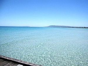 Rosebud, Victoria - Shallow waters on the Peninsula