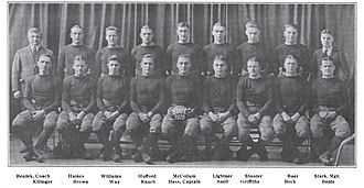1920 Penn State Nittany Lions football team - Image: Penn State Football 1920