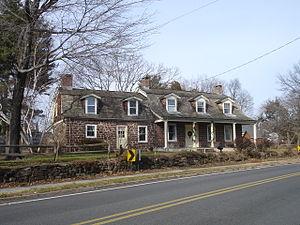 Garretson Forge and Farm - The Peter Garretson Farmhouse in Winter 2011