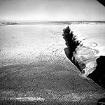 Petermann Glacier, Calving Ice Shelf terminus, July 19, 1964 (GLACIERS 1700).jpg