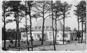 Ronkonkoma, New York - The former Petit Trianon on the southwest shore of Lake Ronkonkoma