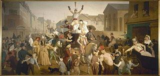 La Descente de la Courtille (actuels 11ème et 20ème arrondissements)