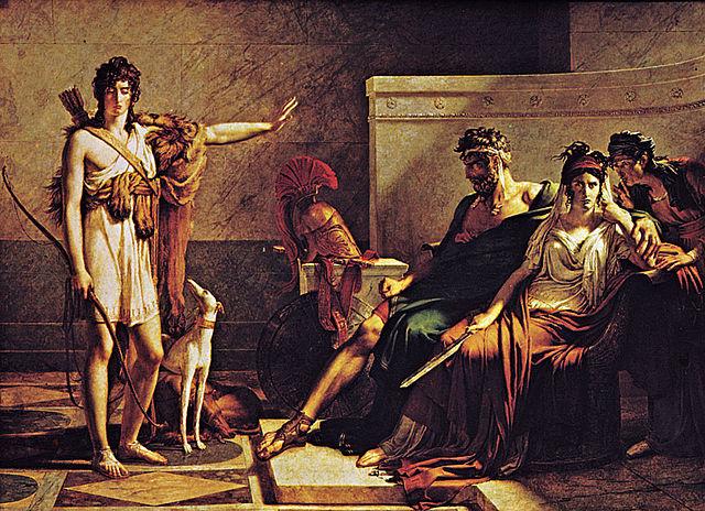 П.-Н. Герен. Федра и Ипполит, 1802