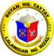 Official seal of Taytay