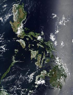 carte: Géographie des Philippines