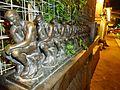 Phoenix light rail Valley Metro station with statues.JPG
