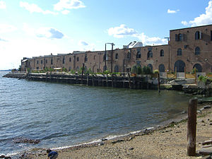 The Real World: Brooklyn - Pier 41 in Red Hook, Brooklyn, where the cast resided.