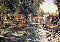 Pierre-Auguste Renoir - La Grenouillère