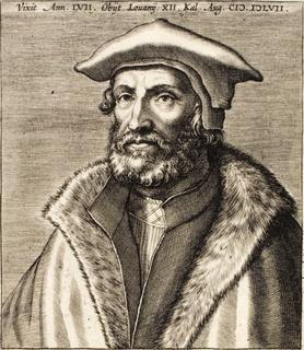 Petrus Nannius Dutch poet and humanist