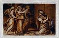 Pietro Candido e altri, monocromi della cappella dei pittori 06.JPG