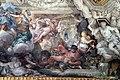 Pietro da cortona, Trionfo della Divina Provvidenza, 1632-39, Pace in trono, fucina di vulcano e tempio di giano 10.JPG