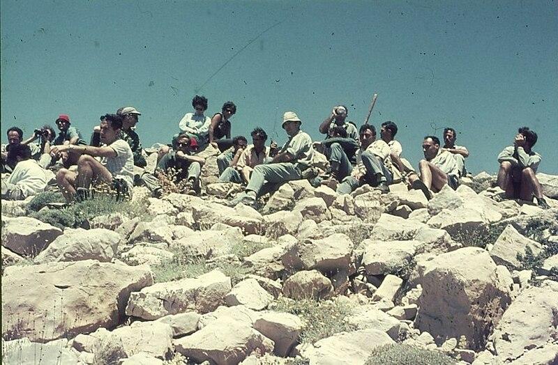 גן-שמואל-טיול לחרמון 1968