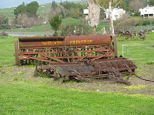 "Oliver Farm Equipment Company - ""Oliver Superior"" grain and fertilizer drill"