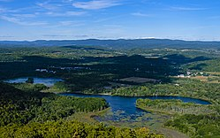 Central Pine Plains from the Stissing Mountain fire tower