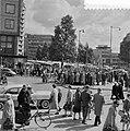Pinksterdriemarkt in Rotterdam. Coolsingel, Bestanddeelnr 908-6760.jpg