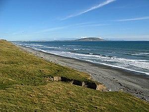 Te Waewae Bay - Looking towards Pahia Hill