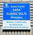 Placa de la calle Sara Suárez Solís.jpg